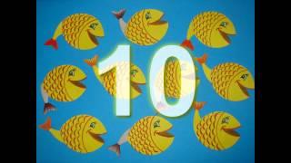 Пісні для дітей 10 жовтих рибок