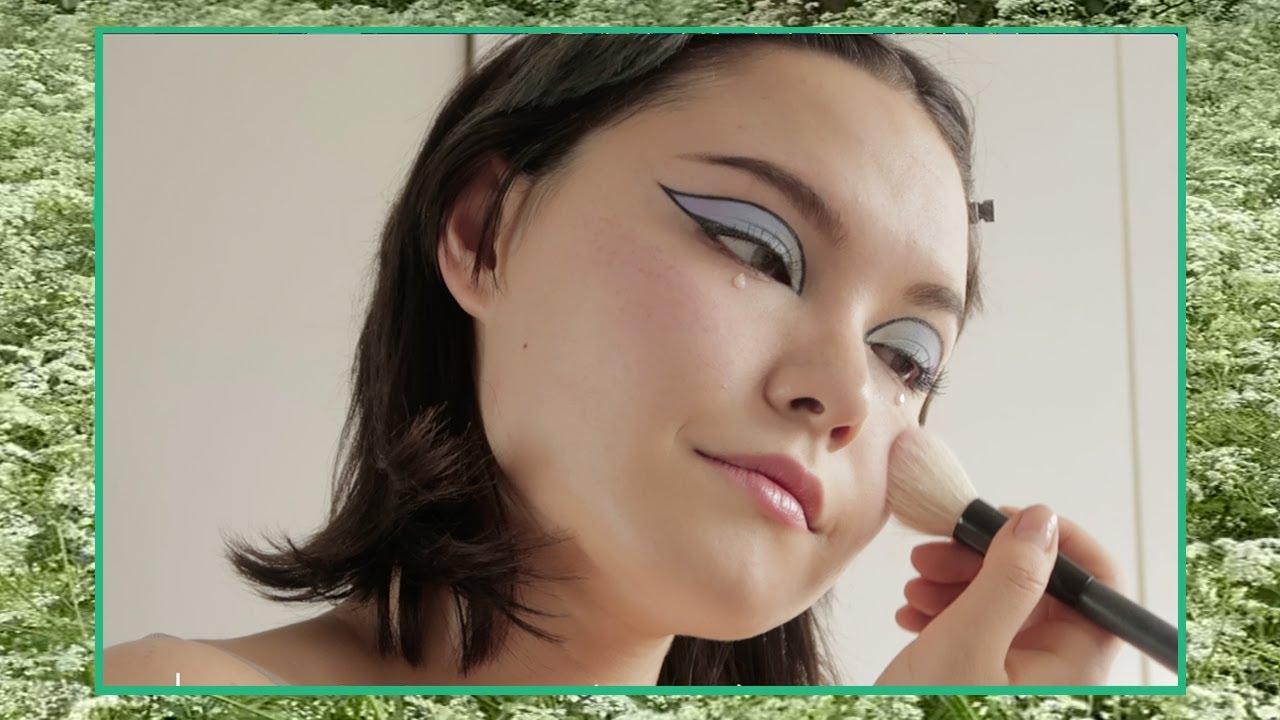 🦋MORPHE X PONY 팔레트로 그래픽 파스텔 아이 메이크업 🦋 Maria Does Makeup   메이크업하는 마리아