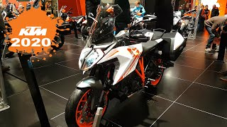 New amazing Models  KTM Motorcycles at Brussels Motor Show 2020