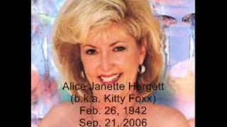 R.I.P. Kitty Foxx