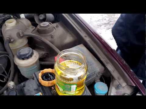 Антифриз концентрат разбавляем с дистиллированной водой