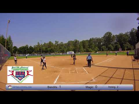 NorCal Bandits vs. Minnesota Magic - 2017 18A Fastpitch National