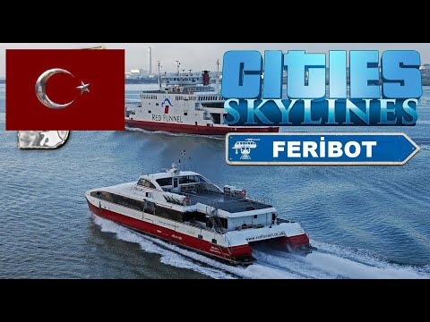 Feribot Seferi - Cities Skylines - Deluxe Edition |