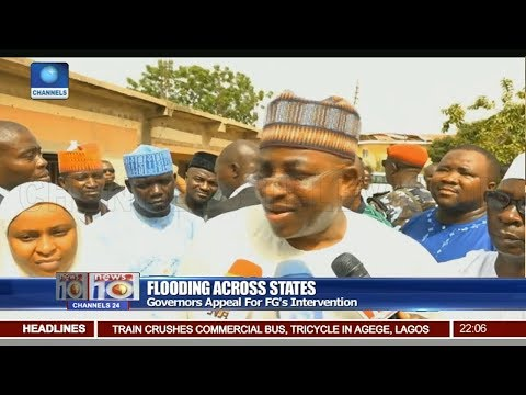 Governors Appeal For FG's Intervention In Flooding Across States Pt 1 20/07/18 | News@10 |