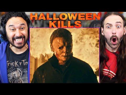 HALLOWEEN KILLS TRAILER REACTION!! (Michael Myers | Jamie Lee Curtis | 2021 Official)