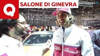 Giovinazzi: «Sono orgoglioso di correre per l'Alfa Romeo» - Salone di Ginevra 2019 | Quattroruote