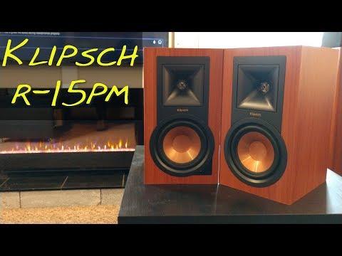 Klipsch R-15PM _ (Z Reviews) _ PFG Speakers!