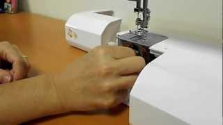 Rozložení kyvného chapače šicího stroje