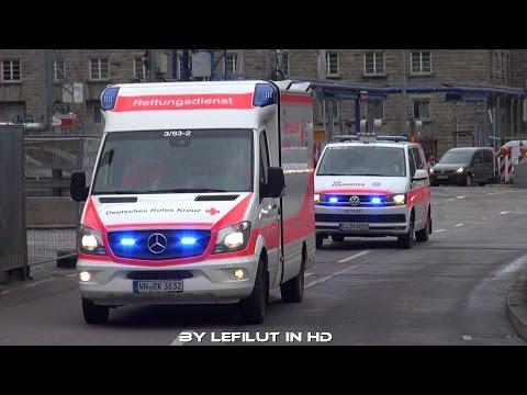 [SELTENE KOMBI] RTW DRK KV Rems Murr & NEUES NEF JUH Stuttgart