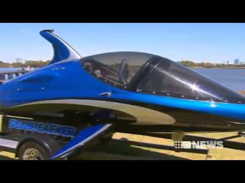 Seabreacher Australia on Channel Nine News