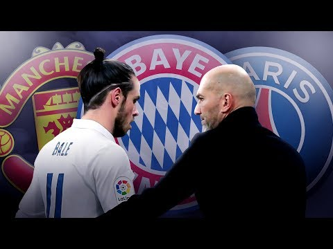 Bayern Munich & PSG To Battle For Gareth Bale Transfer After Zidane Bust-Up! | W&L