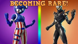 5 Skins That Might Become SUPER RARE In Fortnite | (These Skins Could Be The New Skull Trooper!)
