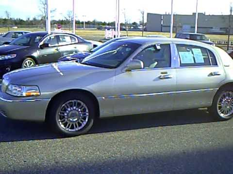 2010 Lincoln Town Car Signature Limited Continental Edition Youtube