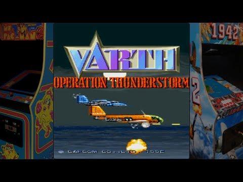 Varth - Operation Thunderstorm - Capcom (1992) / Arcade Game  