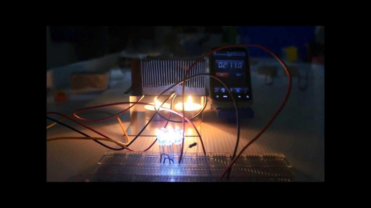 溫差發電-實際測試 2 - YouTube