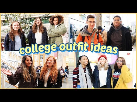 [VIDEO] - 🥶what students actually wear in college (winter outfit ideas!) 1