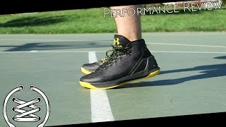 under Armour Curry 3 Performance Test