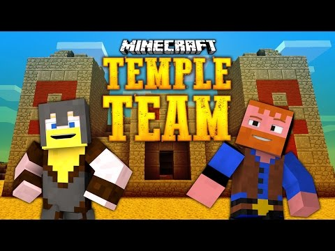Minecraft ★ TEMPLE TEAM PUZZLE ADVENTURE MAP (Dumb and Dumber Minecraft)