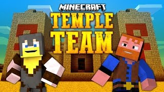 TEMPLE TEAM PUZZLE MAP (Minecraft: Dumb and Dumber)