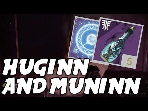 Destiny 2 Forsaken: How To Reach Huginn and Muninn (Secret Skull Vendors, Dreaming City)