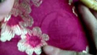 Chinese Silk Satin Embroidery Brocade Hand Bag Tote Bag
