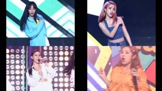 Why is MAMAMOO singing differently from the song?
