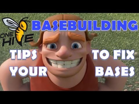 BASEBUILDING: Basic Through Advanced, Tips To Improve Your Base!