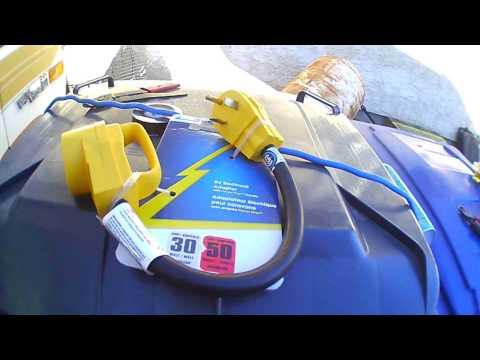 RV Shore Power Cable Repair