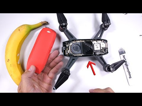 How Naked can the DJI Spark get?! + Test flight
