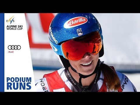 Mikaela Shiffrin | Ladies' Giant Slalom | Soldeu | Finals | 1st place | FIS Alpine
