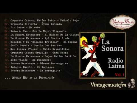 La Sonora Radio Latina  (Full Album/Álbum Completo) Vol. 1