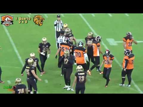 Compacto Manaus Bowl XI - Manaus Broncos x North Lions