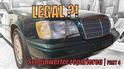 MKB TEC | Scheinwerfer tauschen | Mercedes W124 Cabrio US IMPORT | Part 4