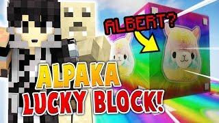 ALPAKA ALBERT LUCKY BLOCK MINECRAFT PIXELMON /w Diabeuu