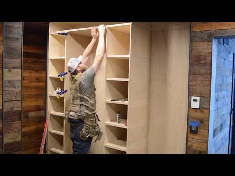 How To Build A Closet Organizer: PART 2