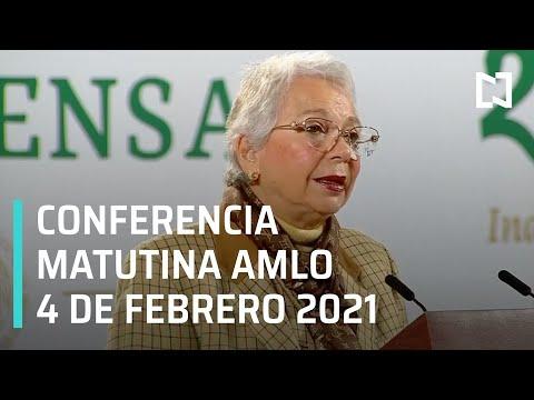 Conferencia matutina AMLO / 4 de Febrero 2021