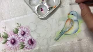 Aprenda a Pintar Passarinho – Parte 1