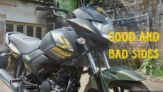 Yamaha Saluto 125 || Honest Review|| Good and Bad sides explained|| Price|| Mileage