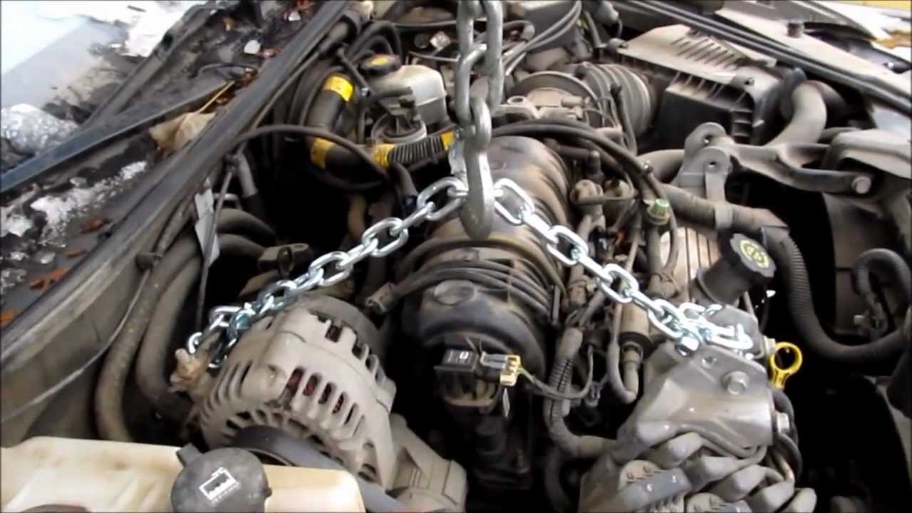 Changing An Oil Pan In A 2002 Pontiac Grand Prix How To