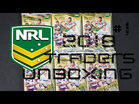 NRL 2018 TRADERS UNBOXING #1 | WHAT AN AMAZING START TO THE SEASON!!