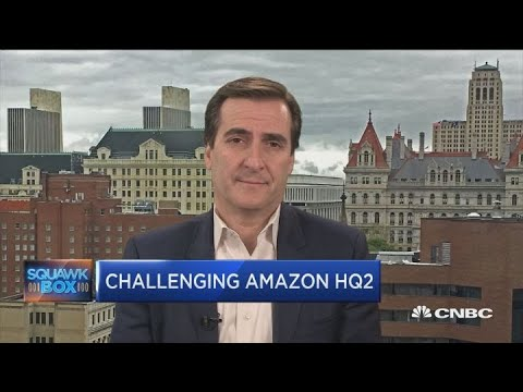 Amazon 'scammed' NYC into incentivizing new headquarters, says NY state senator Mp3