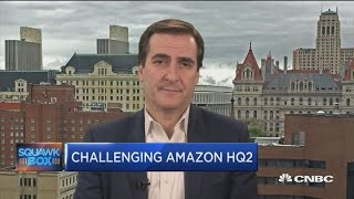 Amazon 'scammed' NYC into incentivizing new headquarters, says NY state senator