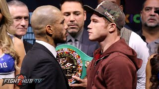 Miguel Cotto vs  Canelo Alvarez full video- COMPLETE Final Press Conference and Face Off video