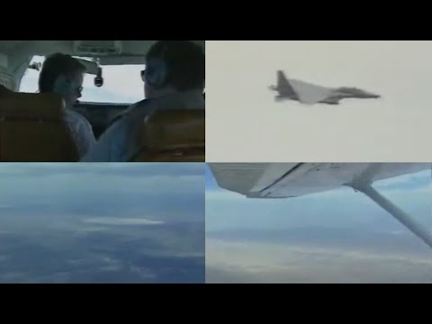 Flying Near Area 51 (Restricted Airspace) over Groom Lake, Nevada - FindingUFO