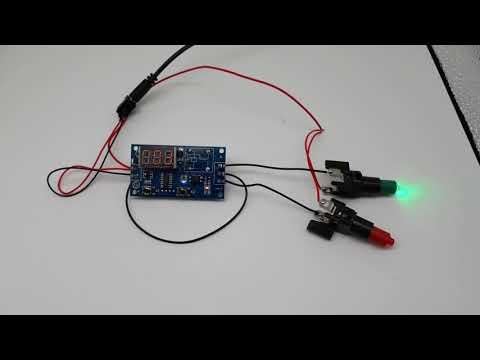 無限循環開關  倒計時模塊  常開常閉切換  時間控制器