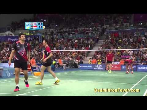 Badminton Highlights - MD Finals - 2014 Asian Games