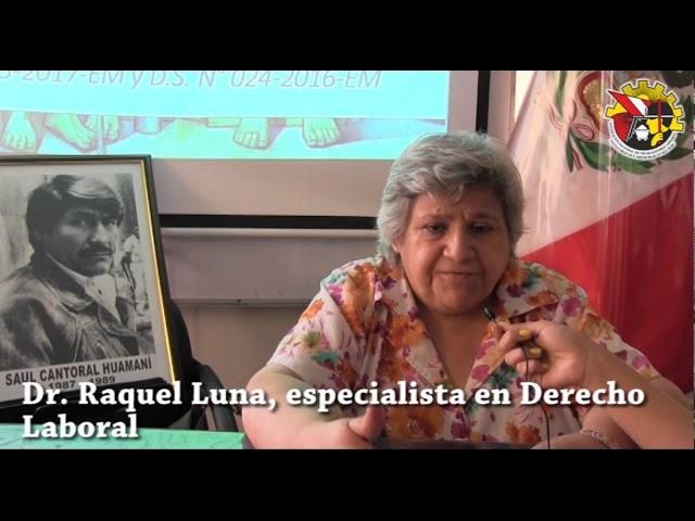 Palabras del Sec. General de la FNTMMSP, Jorge Juárez sobre el Pliego Nacional Minero