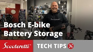 Bosch Ebike Battery Storage