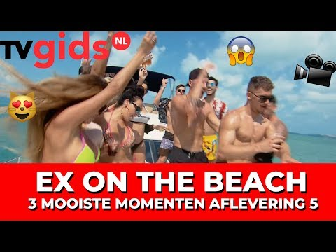 Ex on the Beach - Afl. 5: Katers, nieuwe ex en een mislukte date