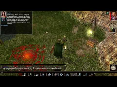 Let's Play Neverwinter Nights #139 Time-travel wackiness. Where's Agent 5 when you need him?